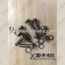 AL6XN NO8367 m30 hardware hub bolt and nut