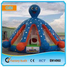 inflatable cartoon slide for kids