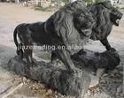 natural stone lion sculpture
