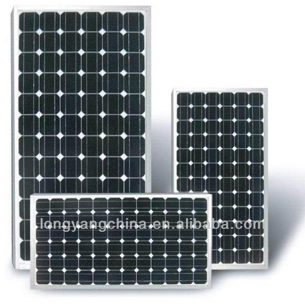 High Efficiency 55W to 100W Monocrystalline Solar Panel
