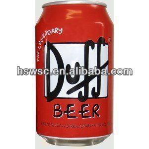 duff 33cl pode cerveja