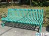 Cast iron outdoor garden bench, China wholesale garden furniture