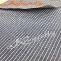 100% de algodón de ligamento tafetán de color azul y blanco a rayas de tela de mezclilla para la camisa