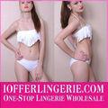atacado de venda quente baratos moda pendão branco bikini swimsuit thong