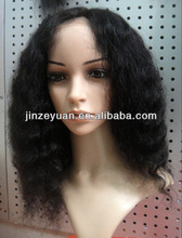 Cheap price human virgin hair u part wig on sale