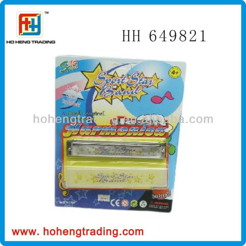 Childrens music instrument 24 holes plastic harmonica
