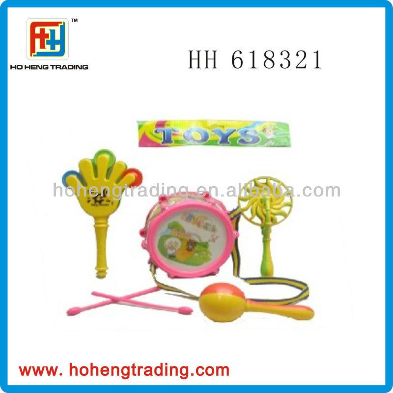 Kids plastic musical instrument toy set