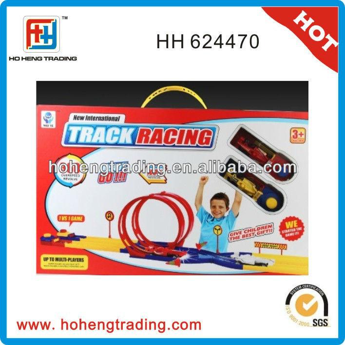 track racing toys car play set for boys