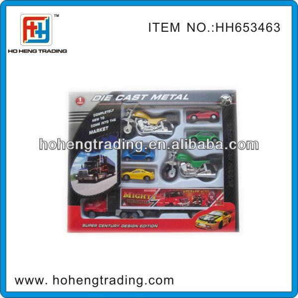 Mini die cast model car set