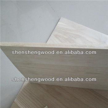 Solid wood Paulownia lamination board / paulownia laminated board