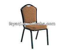 Modern design metal steel cheap price stackable aluminum hotel banquet chair YA-D031