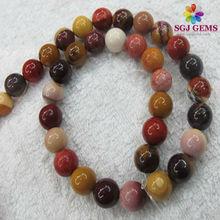 6mm Round Beads Natural Semi Precious Stone Beads Mookaite