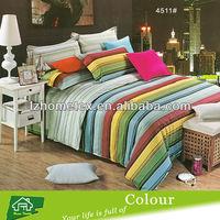 100% cotton textile fabric bedding bed sheet set