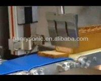 ultrasonic butter cutting machine serving food cutter kangaroo meat slicing ultrasonic slicer