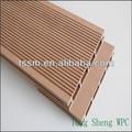 Anti- escorregamento impermeável de plástico reciclado de madeira ao ar livre