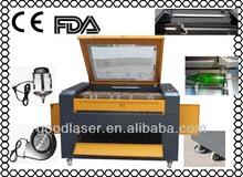 maquina de corte laser para madera JD90125 with CE, FDA, Coreldraw AutoCAD