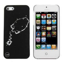 OEM Dark Noctilucent Twelve Constellations Aquarius Back Case For iPhone 5S 5C for cell phones