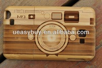 wood design for galaxy note 2 back cover case