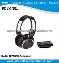 Wireless Headphones, IR Wireless Headset, Earphones and Headphones IN CAR( IR2008/D)