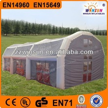 Customized durable CE inflatable extra large camping tents