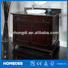 Hot sell new antique bathroom cabinet with towel bar