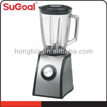 2014 Sugoal glass and stainless steel blender custom logo blender bottle smoothie makers