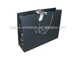 promotional cheap logo shopping paper bag
