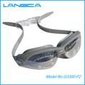 Nuevo diseño a prueba de agua de goma de silicona gafas de natación con anti- la niebla y protección uv