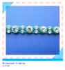 hotsale plastic crystal banding sew on rhinestone trimming