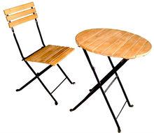 Iron Folding Garden Chair