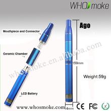 New product ago dry herb vaporizer refills e-cigarette premium e-cig starter kit