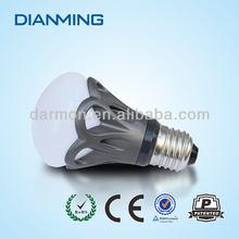 Flower shape E27 E26 BASE TYPE 6w high power led bulbs 3 years warranty with CE&ROHS