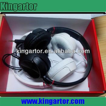 Novelty headphone surround sound headphone/plastic headphone holder
