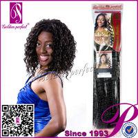 100% Remy Indian Virgin Kinky Micro Loop Sexy Women Hair Weaving Bond