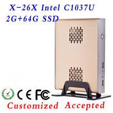 1 pcs Big Promotion!!! XCY X-26X htpc computer case, computer case mini itx, towers desktop computer case