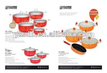 Good quality porcelain coated cast iron cookware