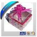 2013 vente chaude cadeau boîte de papier fenêtre transparente en pvc