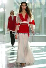 Custom made gown of Antonio Berardi design for 2013-2014 spring summer