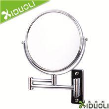 Di metallo a specchio, attaccatura di parete a specchio, specchio per il trucco a forma di conchiglia