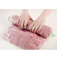 manufacturer products vacuum pressed laundry bag zipper lock vacuum seal