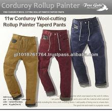 Pana de la frontera de conmutación del roll up pintor pantalones