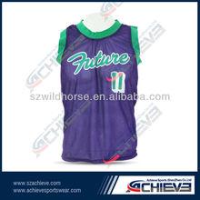 Free shipping !! O-neck purple basketball jerseys/shirts/suits