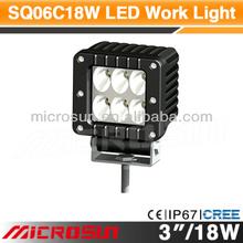 """3"""" 18W Off Road LED Work Light waterproof led bar"""