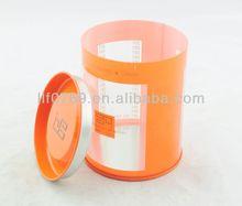 transparent plastic PET containers