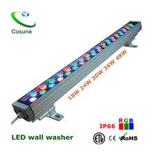 IP65 RGB CE UL SAA Outdoor led round wall washer