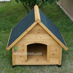 outdoor wood dog house XEP0104
