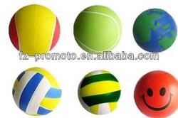 Mini Promotional 14 Panel Shiny PU Juggling Ball