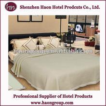 super soft 100% cotton popular hotel blanket