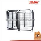 5' x 5' x 4' outdoor galvanized wire heavy duty dog crate