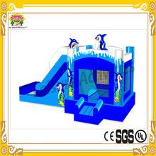 Newest factory price inflatable toboggan slide